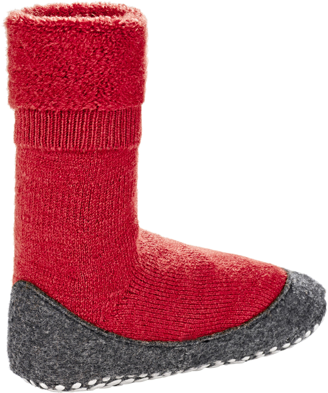 Falke Cosyshoes SO Ciabatte Bambino grigio rosso su Addnature 0be0b79b17f